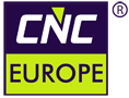 CNC EUROPE Metal working Machines -fin skiving machines, deep hole drilling machines, grinding machines, induction machines, fiber laser welding machines, wobble welding logo